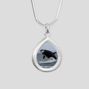 Copy of IMG_2447 Silver Teardrop Necklace