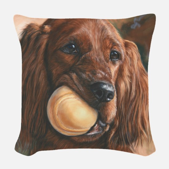 Monet Woven Throw Pillow