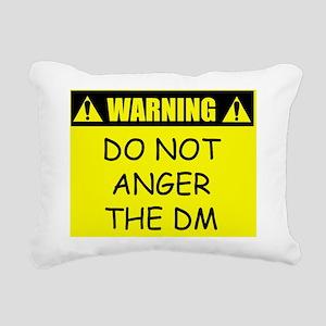 warningdonotangerthedm Rectangular Canvas Pillow
