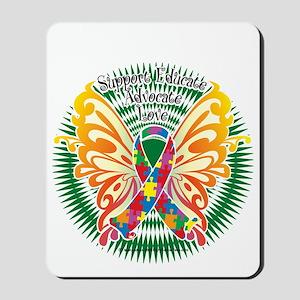 Autism-Butterfly-3-blk Mousepad