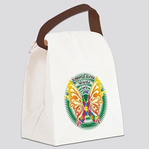 Autism-Butterfly-3-blk Canvas Lunch Bag