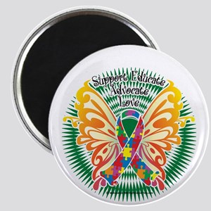 Autism-Butterfly-3-blk Magnet