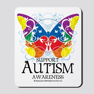 Autism-Butterfly Mousepad