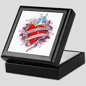 Breast-Cancer-Tattoo-Heart-blk Keepsake Box