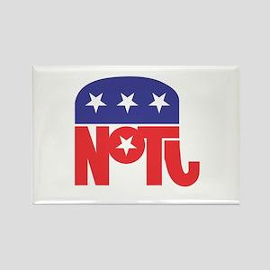 Anti-Republican Rectangle Magnet
