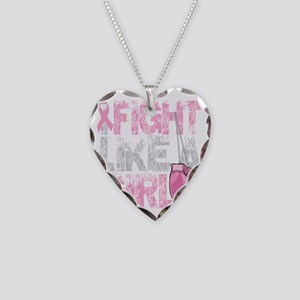BC-Fight-Like-A-Girl-2-blk Necklace Heart Charm