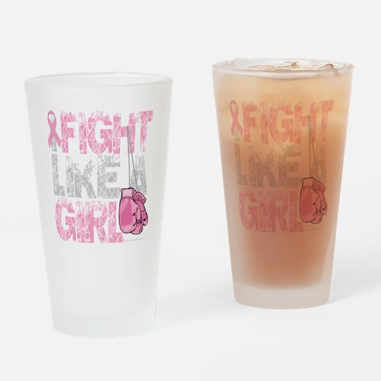 BC-Fight-Like-A-Girl-2-blk Drinking Glass