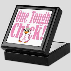 BC-One-Tough-Chick-blk Keepsake Box