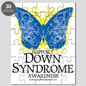 Down-Syndrome-Butterfly Puzzle