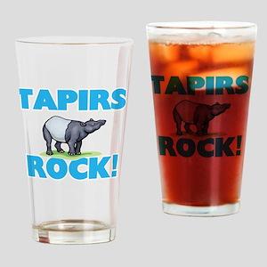 Tapirs rock! Drinking Glass