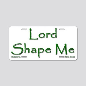 Lord-Shape-Me2 Aluminum License Plate