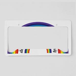 doublerainbow License Plate Holder