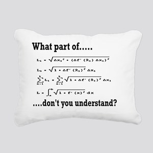 what part of.. Rectangular Canvas Pillow