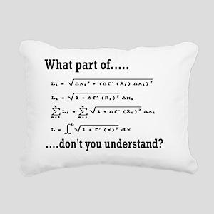 what part of.. Rectangular Canvas Pillow
