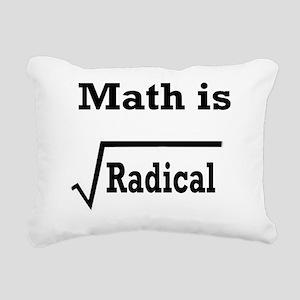 math is radical Rectangular Canvas Pillow