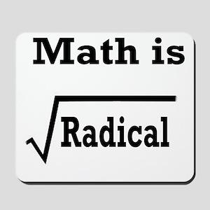 math is radical Mousepad
