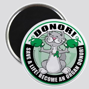 Organ-Donor-Cat-Donor Magnet