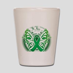 Organ-Donor-Butterfly-3-blk Shot Glass