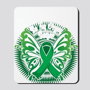 Organ-Donor-Butterfly-3-blk Mousepad