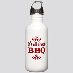 2-BBQ Stainless Water Bottle 1.0L