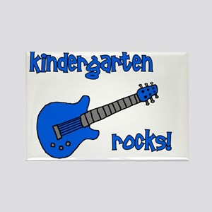 kindergartenrocks_blue Rectangle Magnet
