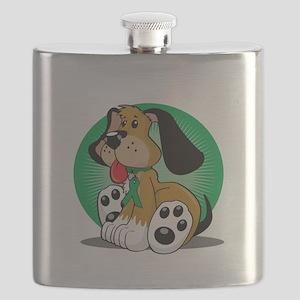 Organ-Donor-Dog-blk Flask