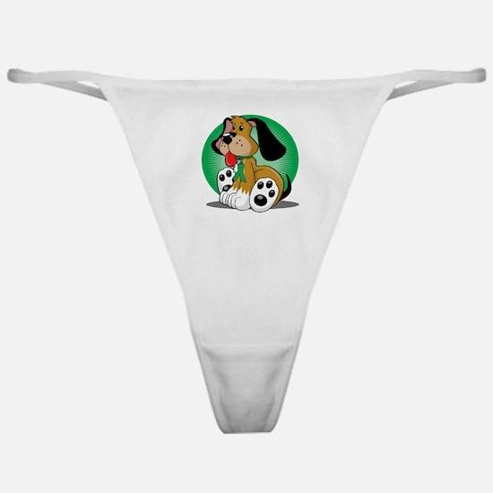 Organ-Donor-Dog-blk Classic Thong