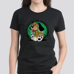 Organ-Donor-Dog Women's Dark T-Shirt