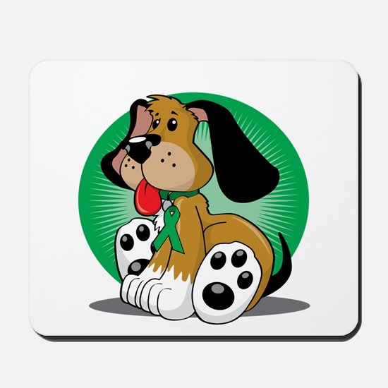 Organ-Donor-Dog-blk Mousepad