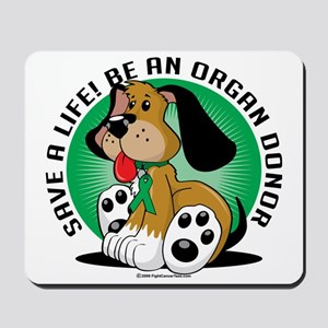 Organ-Donor-Dog Mousepad