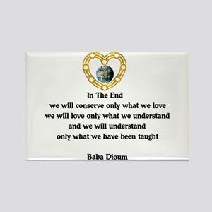 Baba Dioum Quote Rectangle Magnet