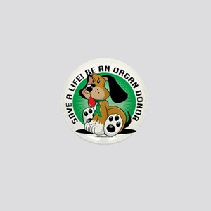 Organ-Donor-Dog Mini Button