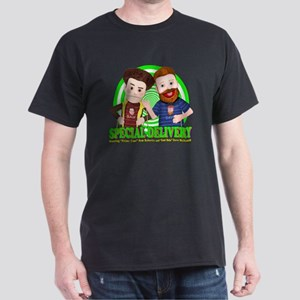 Special_Delivery_Puppets_01 Dark T-Shirt