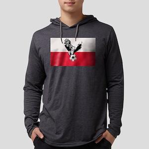 Polish Football Flag Long Sleeve T-Shirt