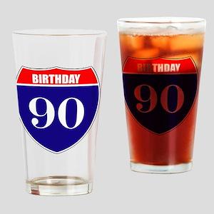 is90birth Drinking Glass