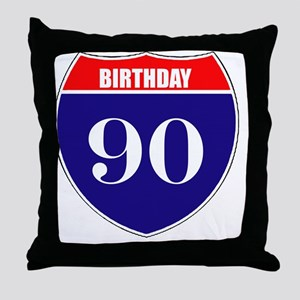 is90birth Throw Pillow