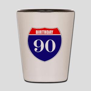 is90birth Shot Glass