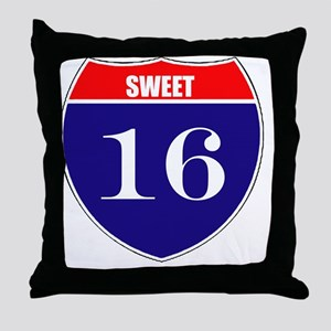 is16birth Throw Pillow