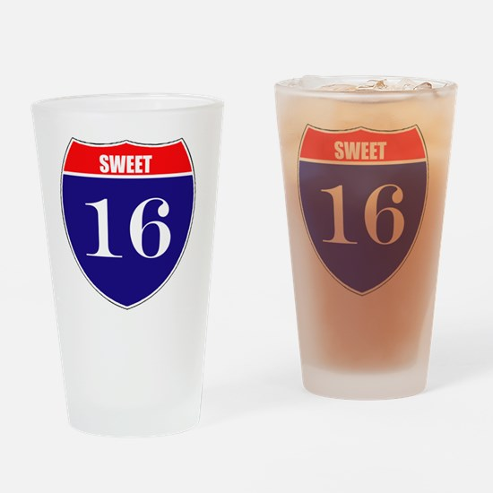 is16birth Drinking Glass