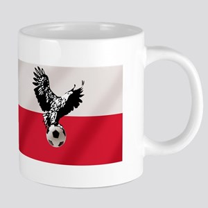 Polish Football Flag Mugs