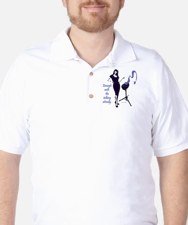 enough_with_the_talking_already Golf Shirt