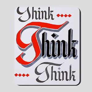 aa_think_think_think Mousepad