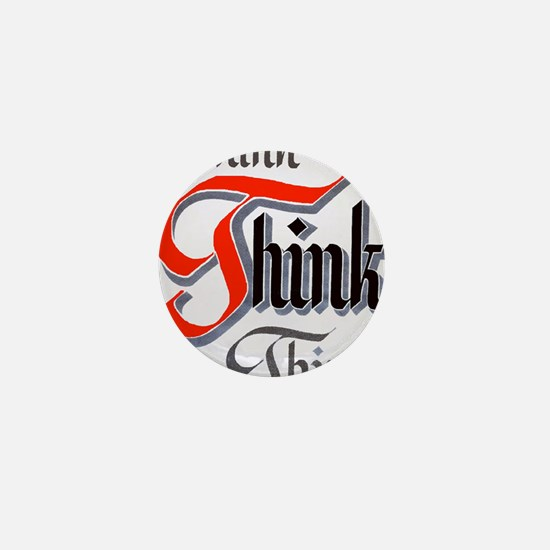 aa_think_think_think Mini Button