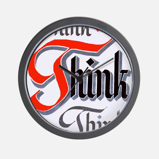 aa_think_think_think Wall Clock