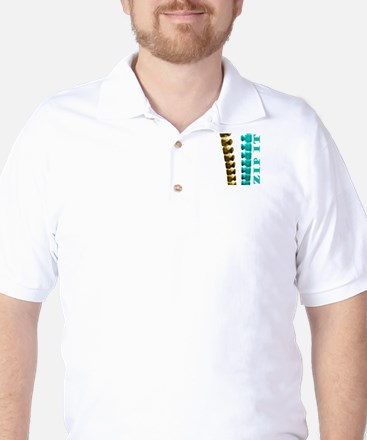 Just Zip It Golf Shirt