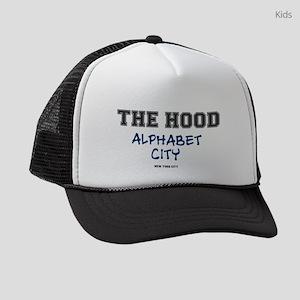 THE HOOD - ALPHABET CITY - NEW YO Kids Trucker hat