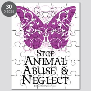 Animal-Abuse-Butterfly Puzzle