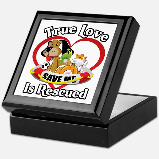 Rescued-Love-2009-blk Keepsake Box