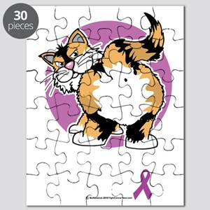 Animal-Abusers-Can-Kiss-My-Ass-Cat-blk Puzzle