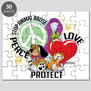 Stop-Animal-Abuse-PLP Puzzle